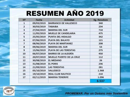 RESUMEN ANUAL 2019